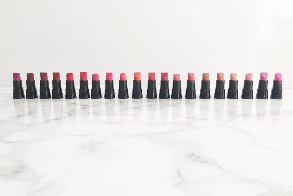 Avon Perfectly Matte Lipstick Range