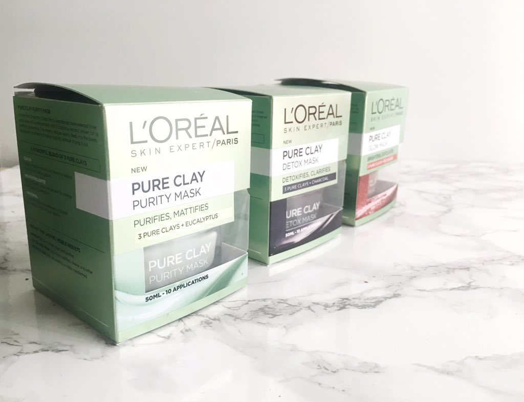 L'Oreal Pure Clay Packaging