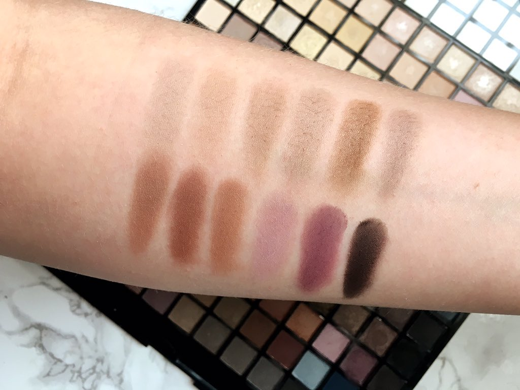 Iconic palette swatches row 10