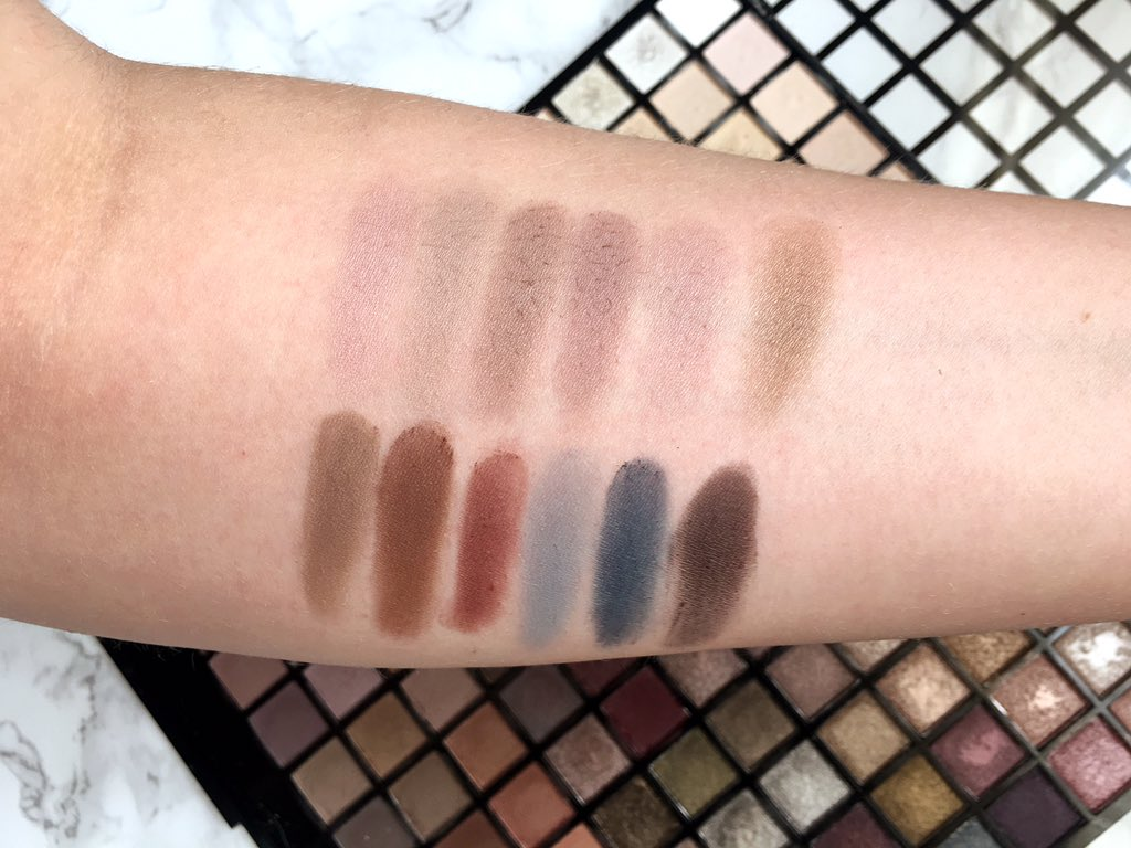 Iconic palette swatches row 11