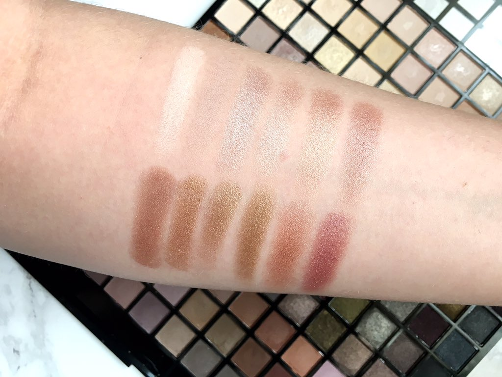 Iconic palette swatches row 4