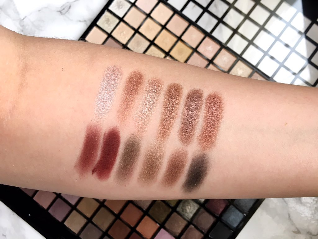 Iconic palette swatches row 8
