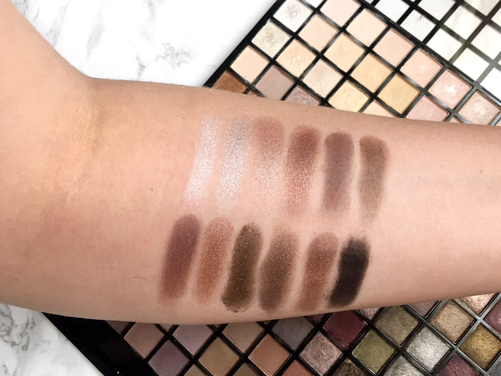 Iconic palette swatches row 9