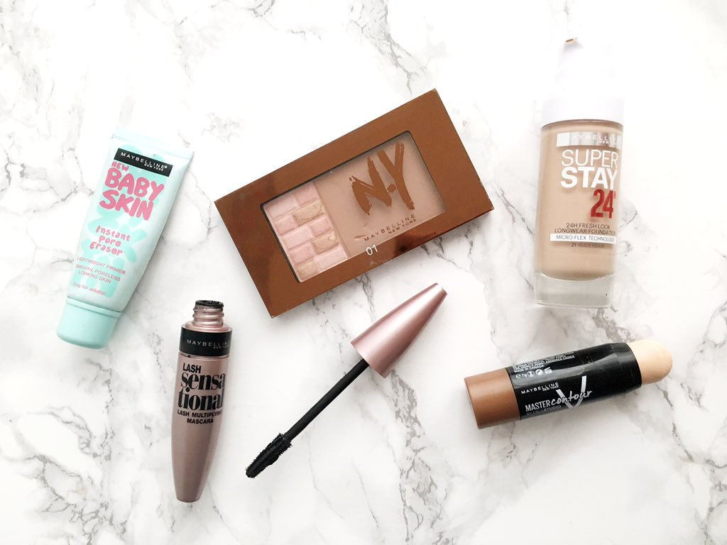 Maybelline Faves
