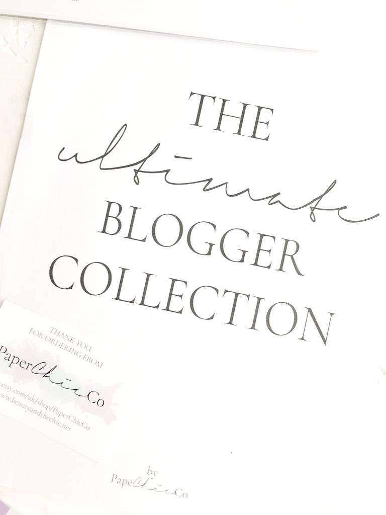 The Ultimate Blogger Collection Paper Chic Co